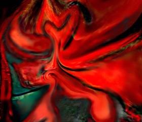 melted pintura ROSHi